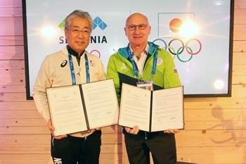 Slovenian and Japanese Olympic Committees strengthen their relationship